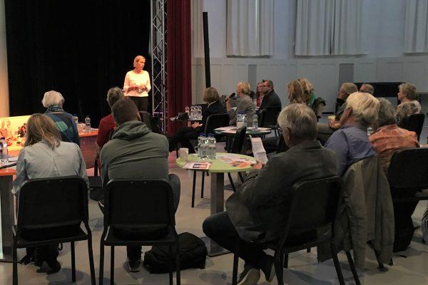 symposium met dagvoorzitter Thea van Wijk