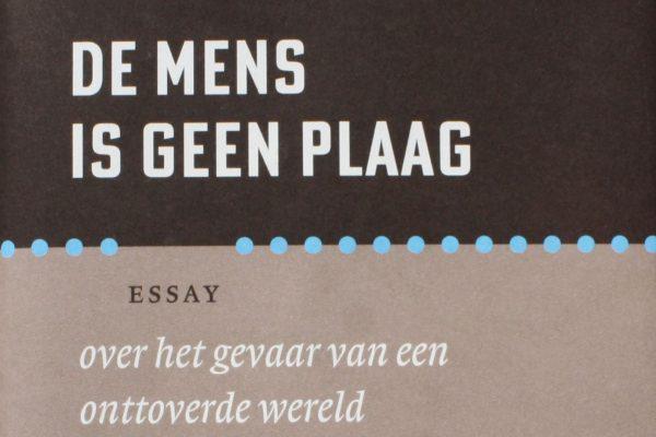 boek cover de mens is geen plaag van Cees Buisman