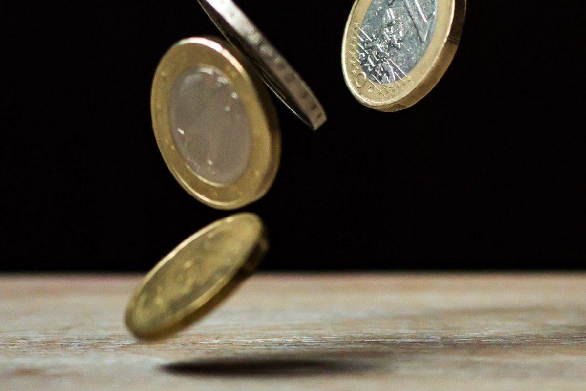 Euro's in de lucht